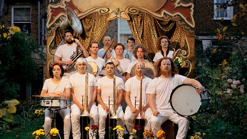 Hackney Colliery Band at Barbican on Sat 5th October 2019 Flyer