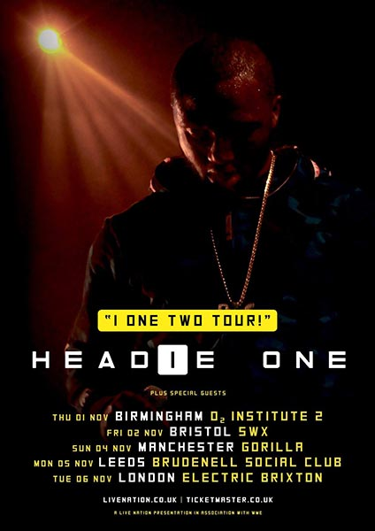 Headie One at Electric Brixton on Tuesday 6th November 2018 Flyer
