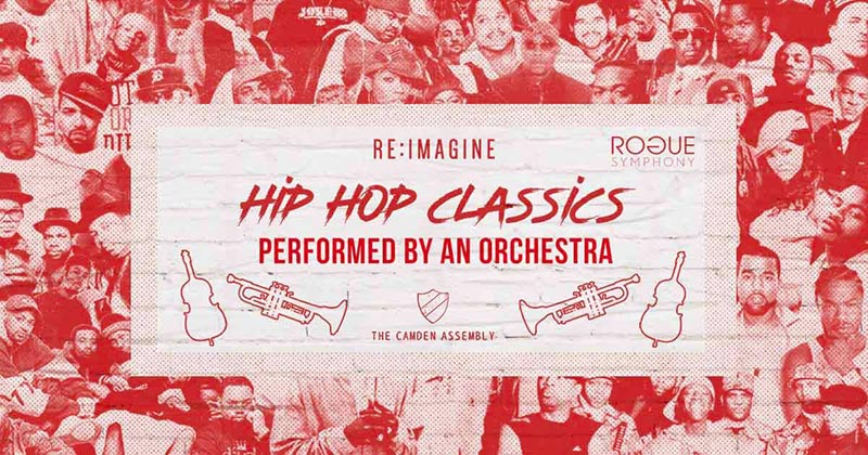 Hip Hop Classics Performed by an Orchestra at Camden Assembly on Fri 6th March 2020 Flyer