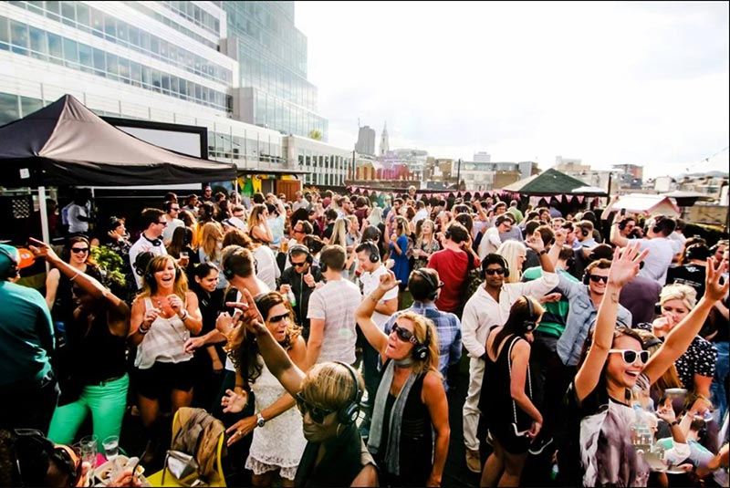 Hip Hop Summer Roof Party at Queen of Hoxton on Sun 2nd June 2019 Flyer