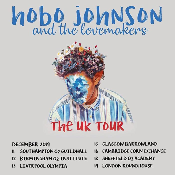 Hobo Johnson & the Lovemakers at The Roundhouse on Thursday 19th December 2019 Flyer