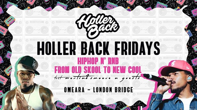 Holler Back at Omeara on Fri 8th November 2019 Flyer