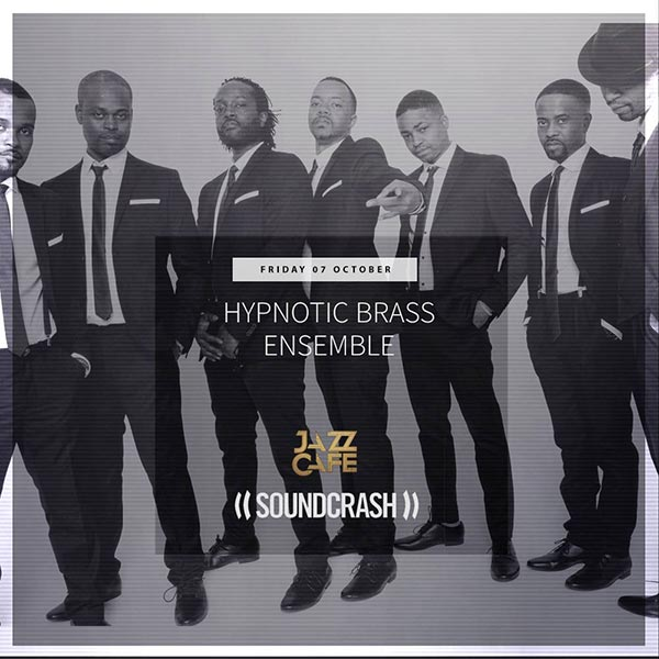 Hypnotic Brass Ensemble at The Forum on Friday 7th October 2016 Flyer