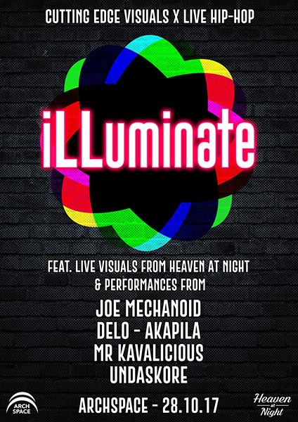 ILLuminate Launch at Finsbury Park on Saturday 28th October 2017 Flyer