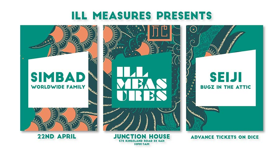 Ill Measures at Junction House on Sat 22nd April 2017 Flyer