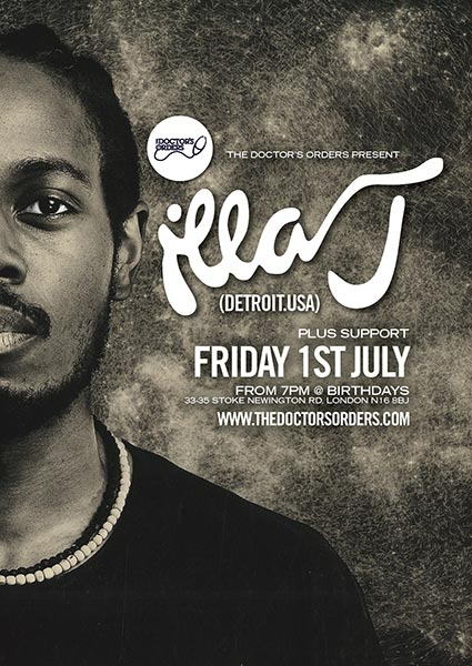 Illa J at Trapeze on Friday 1st July 2016 Flyer