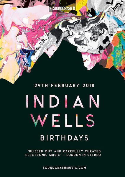 Indian Wells at Birthdays on Sat 24th February 2018 Flyer