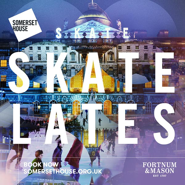 Skate Lates at Somerset House on Fri 4th January 2019 Flyer