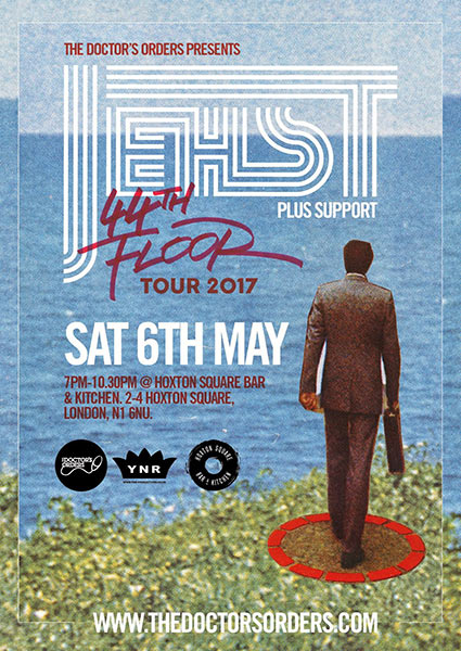 Jehst at The Forum on Saturday 6th May 2017 Flyer