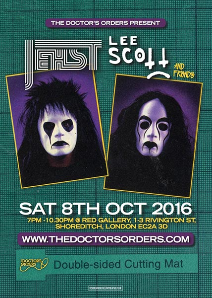 Jehst & Lee Scott at The Forum on Friday 7th October 2016 Flyer