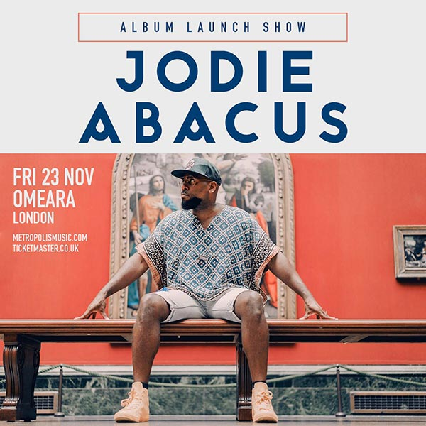 Jodie Abacus at Omeara on Fri 23rd November 2018 Flyer
