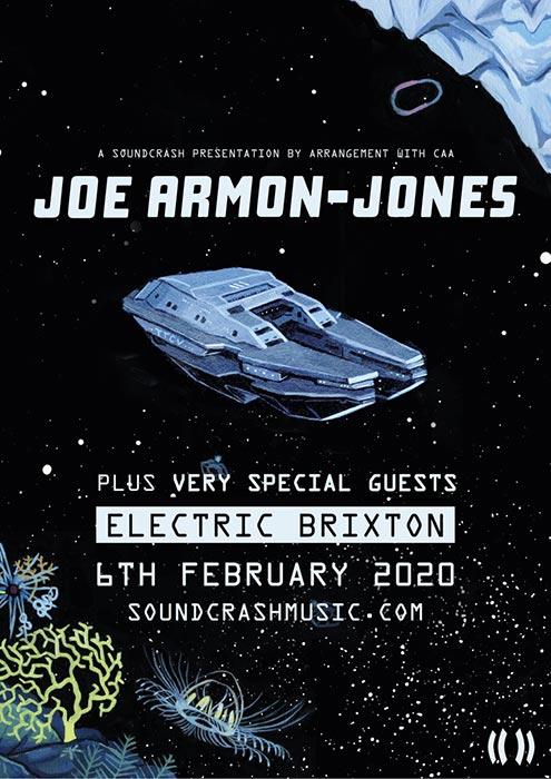 Joe Armon-Jones at Electric Brixton on Thu 6th February 2020 Flyer