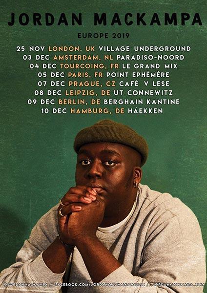 Jordan Mackampa at Village Underground on Mon 25th November 2019 Flyer