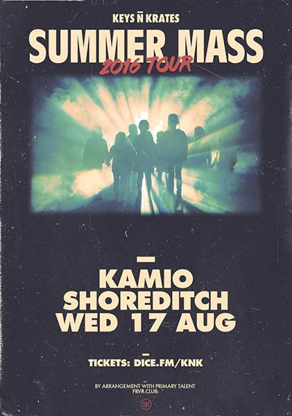 Keys N Krates at Trapeze on Wednesday 17th August 2016 Flyer