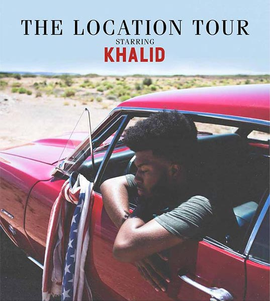 Khalid at Hoxton Square Bar & Kitchen on Sat 27th May 2017 Flyer