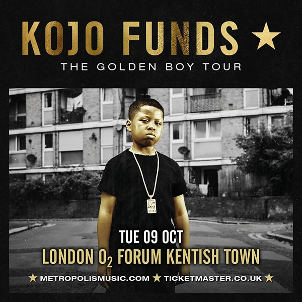 Kojo Funds at The Forum on Tuesday 9th October 2018 Flyer