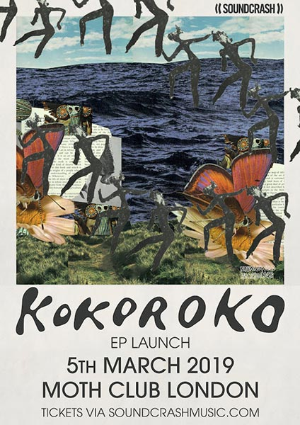 Kokoroko at MOTH Club on Tue 5th March 2019 Flyer