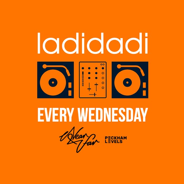 Ladidadi at Near & Far Peckham on Wed 13th February 2019 Flyer