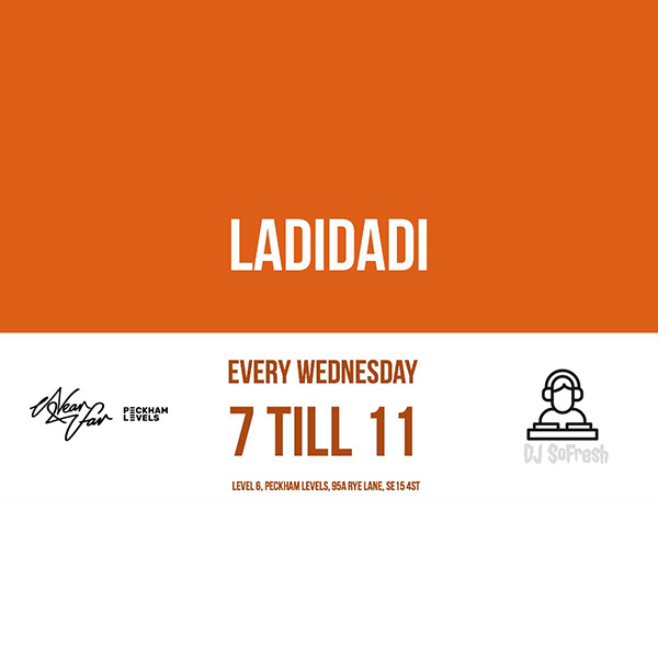 Ladidadi at Near & Far on Wed 19th September 2018 Flyer