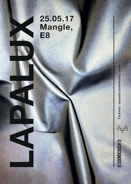 Lapalux at The Laundry Building on Thu 25th May 2017 Flyer