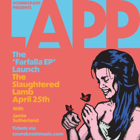 Lapp at The Slaughtered Lamb on Thu 25th April 2019 Flyer