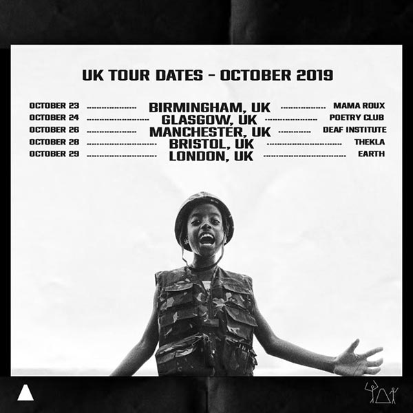 Little Simz at EartH on Tue 29th October 2019 Flyer