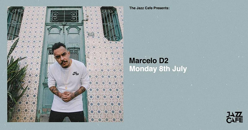 Marcelo D2 at Jazz Cafe on Mon 8th July 2019 Flyer