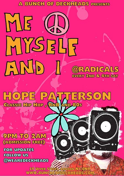Me Myself & I at Trapeze on Saturday 30th July 2016 Flyer
