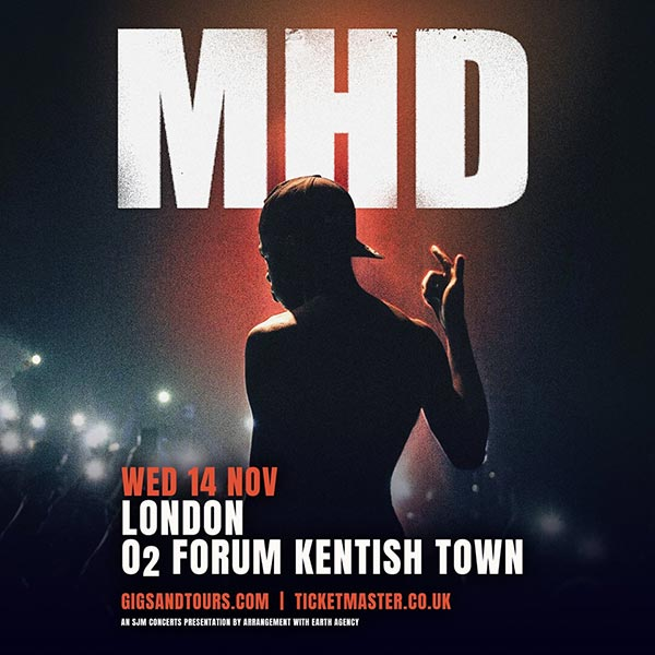 MHD at The Forum on Wednesday 14th November 2018 Flyer