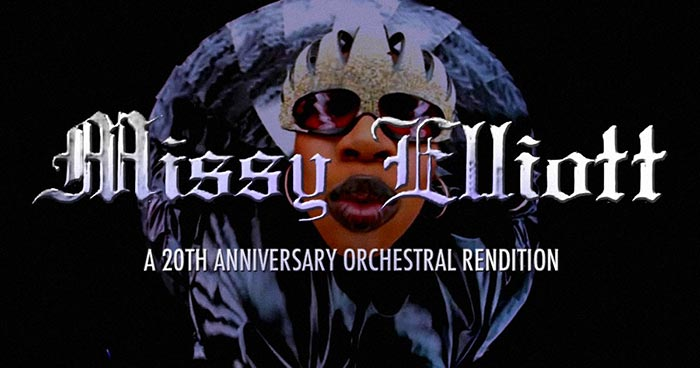 Missy Elliott: A 20th Anniversary Orchestral Rendition at XOYO on Thu 1st February 2018 Flyer