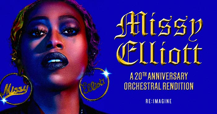 Missy Elliott: A 20th Anniversary Orchestral Rendition at XOYO on Thu 17th May 2018 Flyer