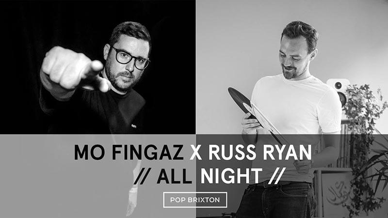 Mo Fingaz x Russ Ryan at Pop Brixton on Sat 15th December 2018 Flyer