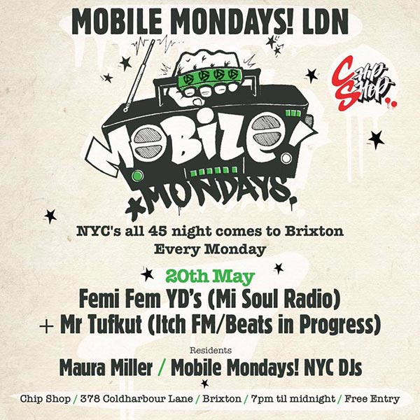 Mobile Mondays LDN at Chip Shop BXTN on Mon 20th May 2019 Flyer