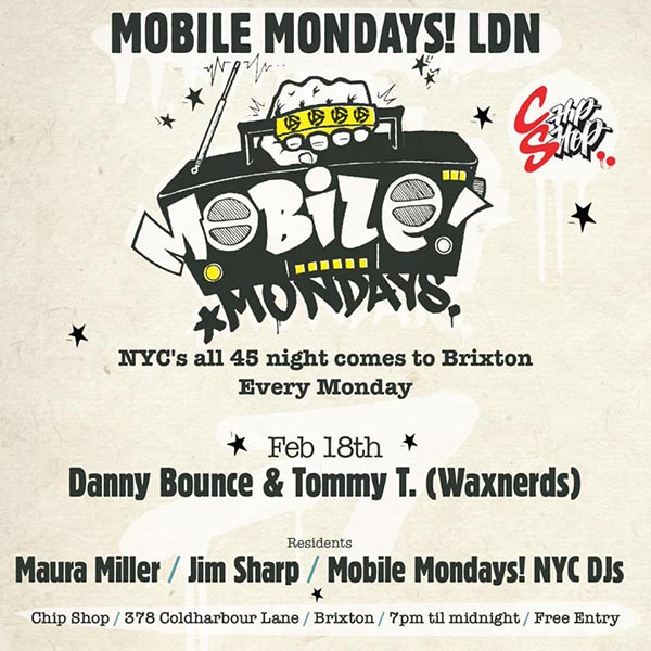 Mobile Mondays LDN at Chip Shop BXTN on Mon 18th February 2019 Flyer