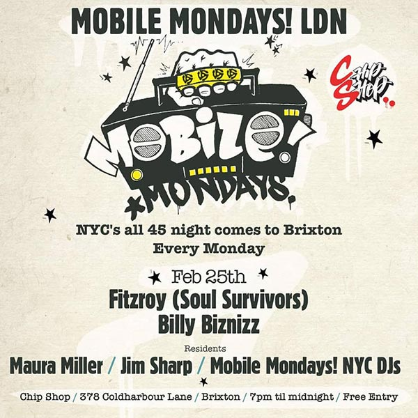 Mobile Mondays LDN at Chip Shop BXTN on Mon 25th February 2019 Flyer