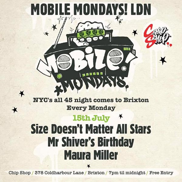 Mobile Mondays LDN at Chip Shop BXTN on Mon 15th July 2019 Flyer