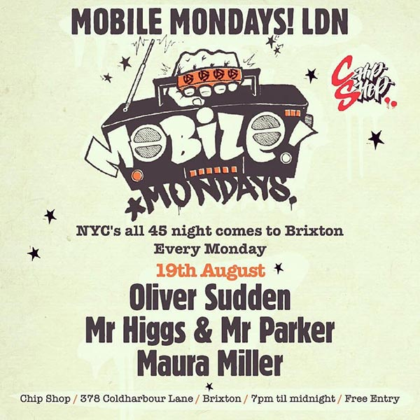 Mobile Mondays LDN at Chip Shop BXTN on Mon 19th August 2019 Flyer
