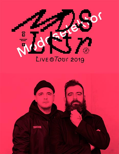 Modeselektor at Oval Space on Sat 23rd February 2019 Flyer