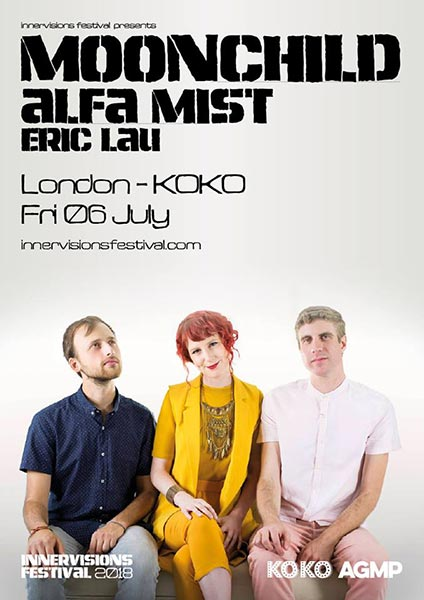 Moonchild at KOKO on Friday 6th July 2018 Flyer