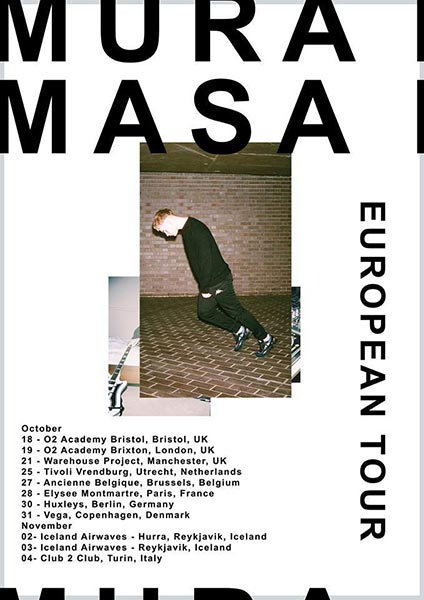 Mura Masa at Brixton Academy on Thu 19th October 2017 Flyer