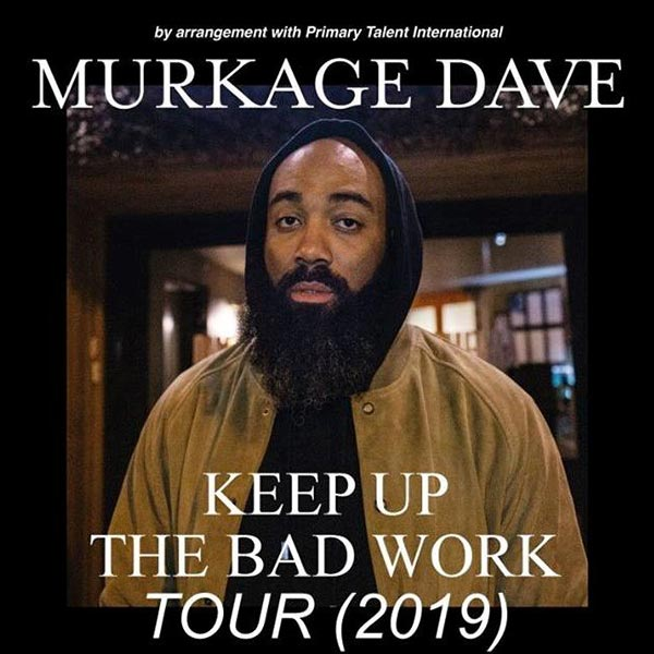 Murkage Dave at Studio 9294 on Fri 18th October 2019 Flyer