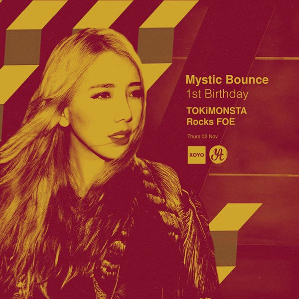 Mystic Bounce w/ TOKiMONSTA at Finsbury Park on Thursday 2nd November 2017 Flyer