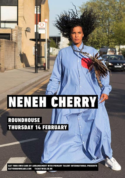 Neneh Cherry at The Roundhouse on Thursday 14th February 2019 Flyer