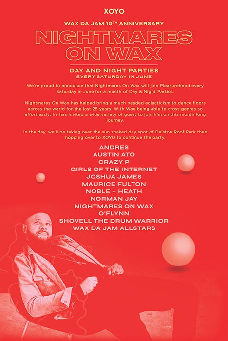 Andres at XOYO on Sat 1st June 2019 Flyer