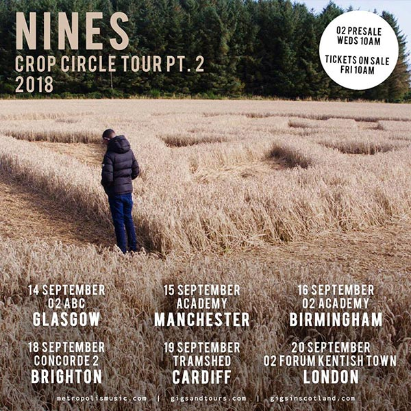 Nines at The Forum on Thu 20th September 2018 Flyer