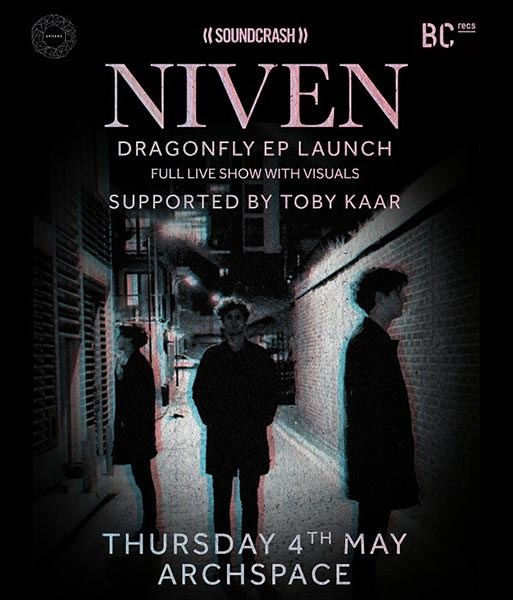 Niven at Archspace on Thu 4th May 2017 Flyer