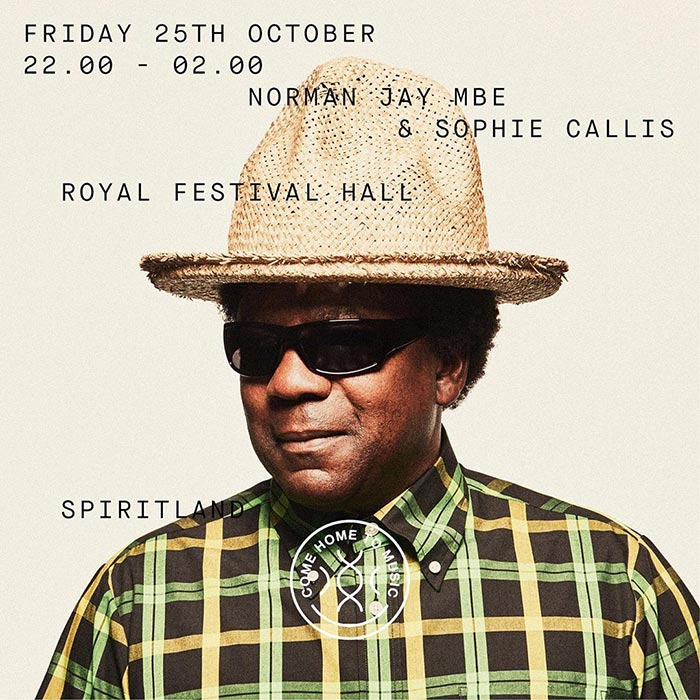 Spiritland By Night at Royal Festival Hall on Friday 25th October 2019 Flyer