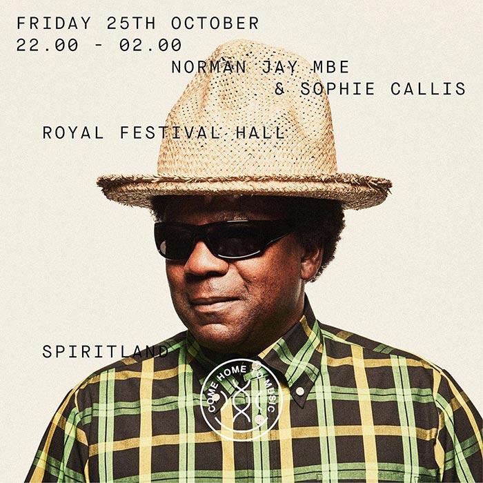 Spiritland By Night at Royal Festival Hall on Fri 25th October 2019 Flyer