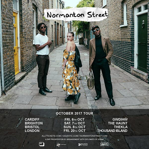 Normanton Street at Finsbury Park on Friday 20th October 2017 Flyer