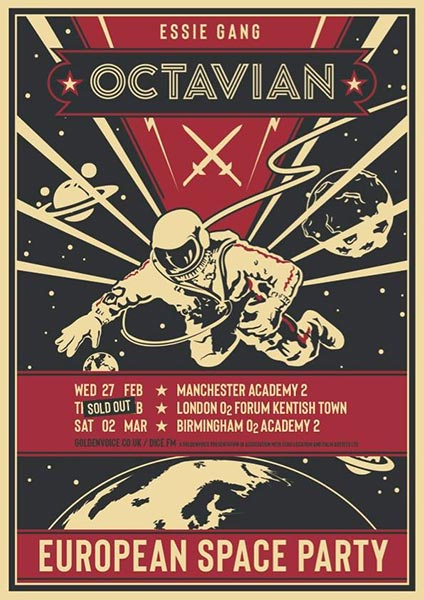 Octavian at The Forum on Thursday 28th February 2019 Flyer